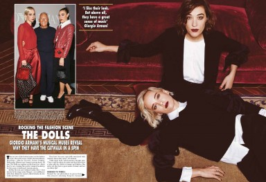 The Dolls Hola Magazine